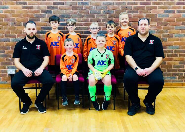 Hamble United Fc U8S Team Photo