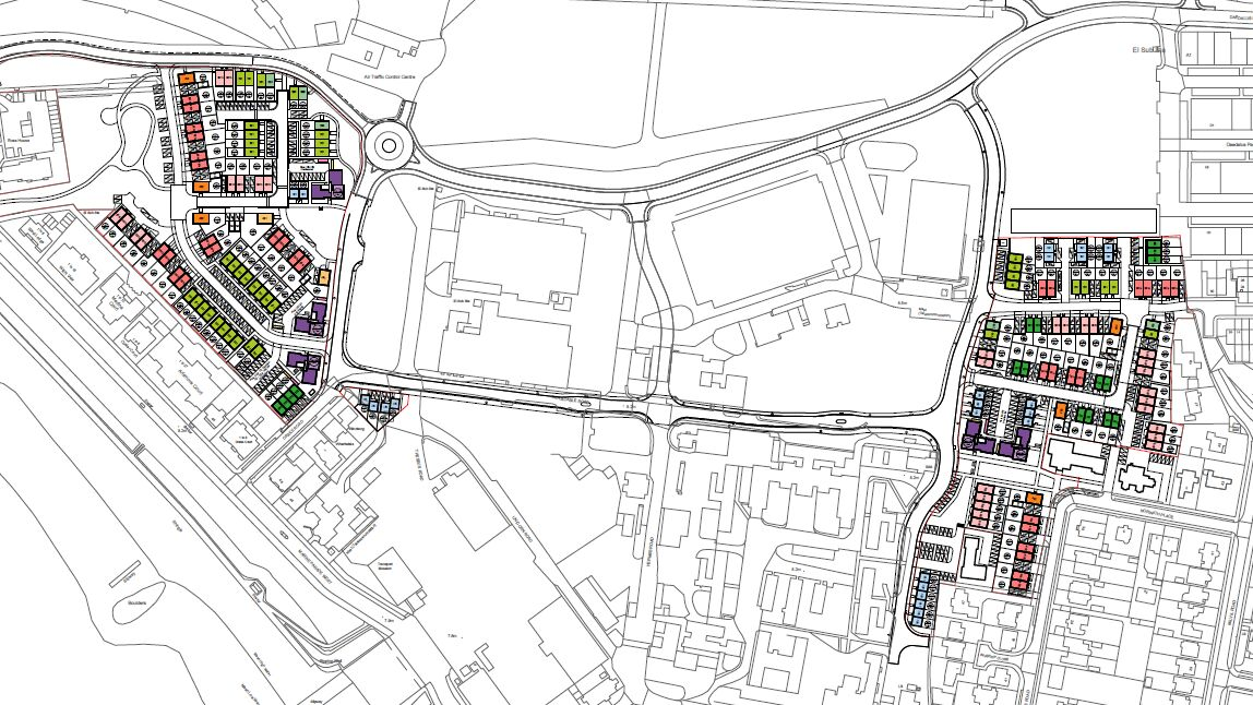 Wates Daedalus Village Site Map