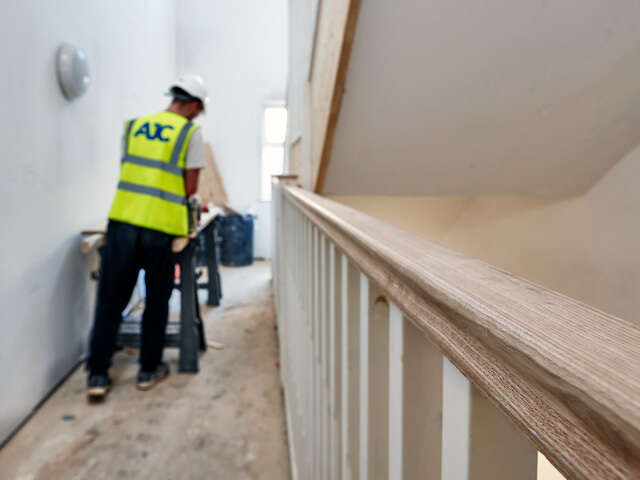 Interior carpentry work - AJC Apprentices