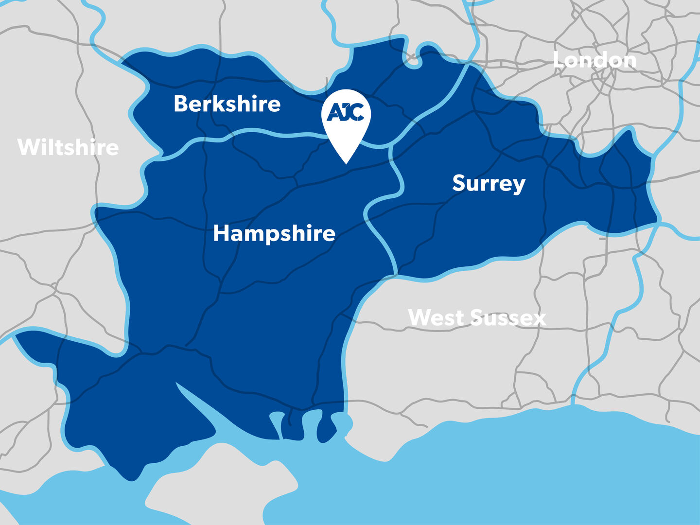 AJC Map - Where to find AJC