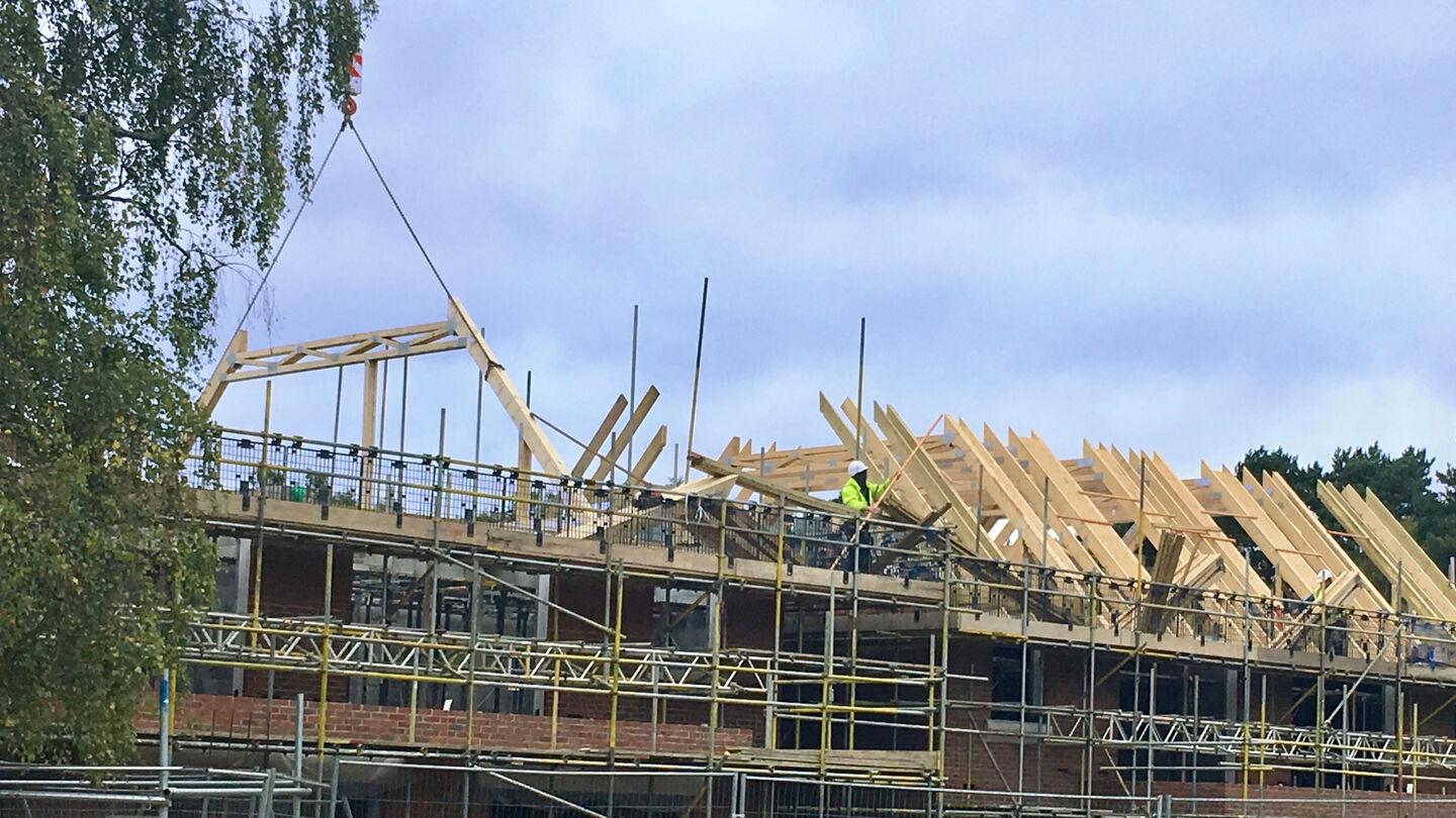 AJC Carpentry's roofs on the millgate properties